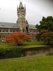 April at Otago