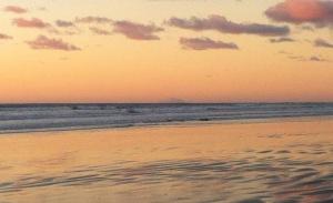 Waikanae beach evening